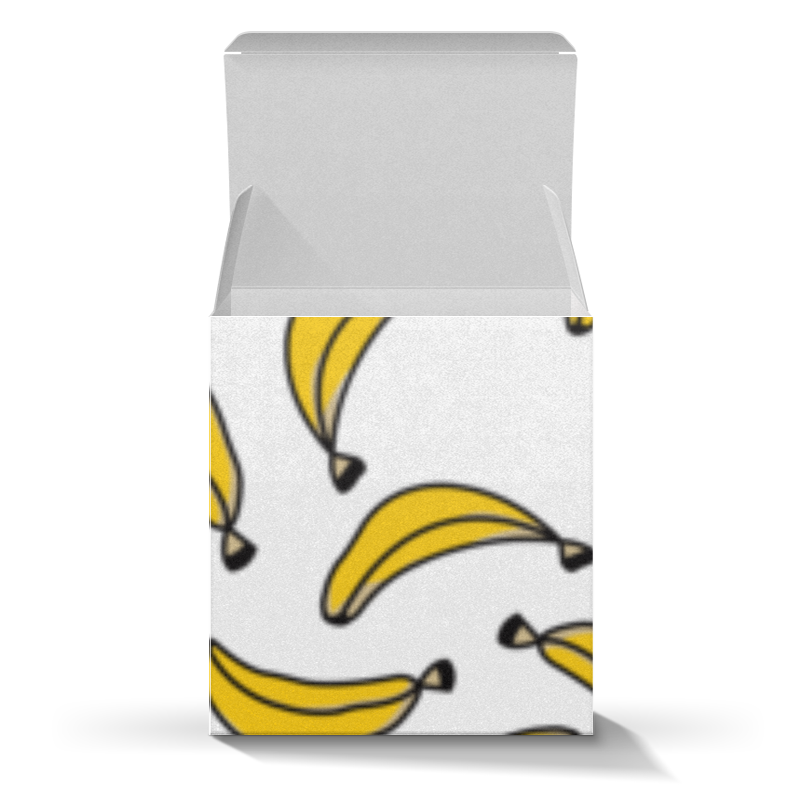 Коробка для кружек Printio Бананы цена
