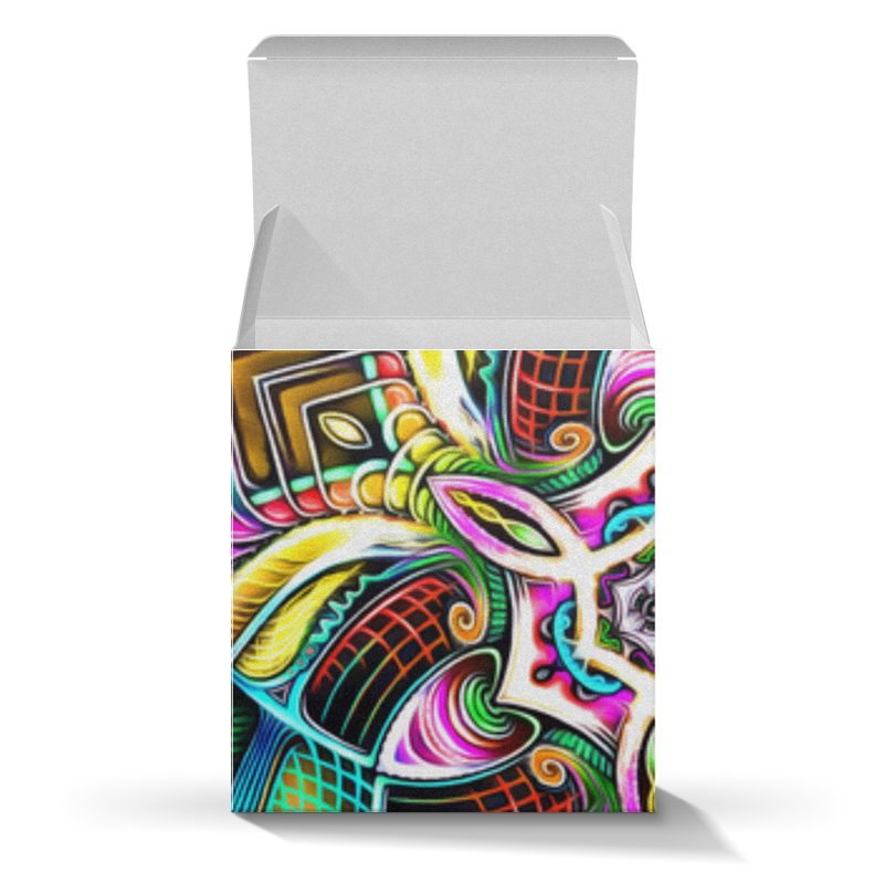 Коробка для кружек Printio Mandala hd 4 вкуснотеево ряженка 4