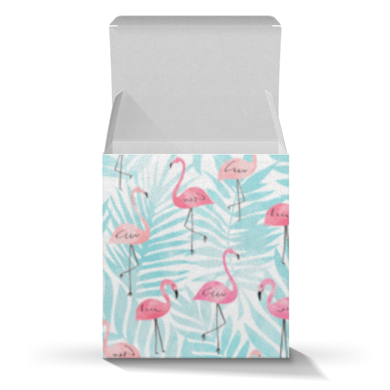 Коробка для кружек Printio Фламинго коробка для кружек printio роспись
