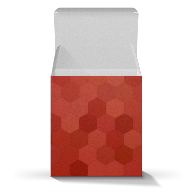 Коробка для кружек Printio Красная абстракция коробка для кружек printio солнце вода цветы абстракция