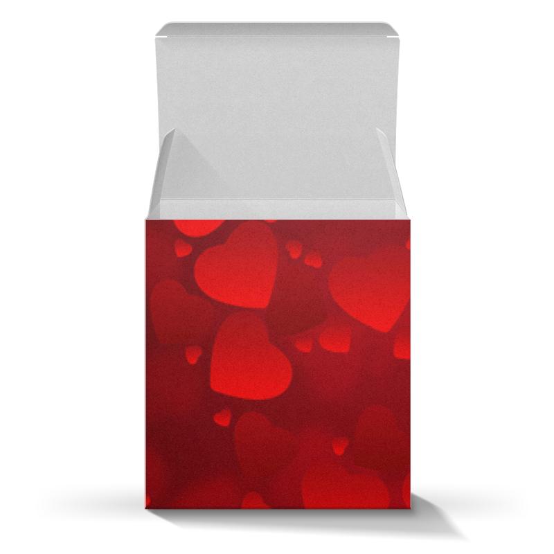 Коробка для кружек Printio Сердца hame черника фруктовое пюре 125 г