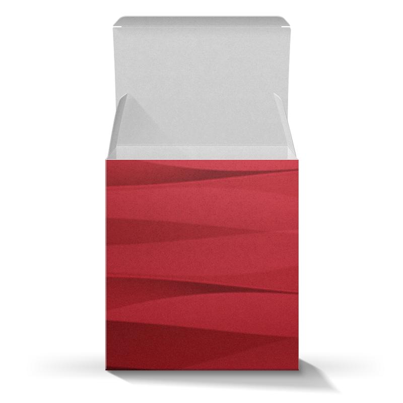Коробка для кружек Printio Красная абстракция