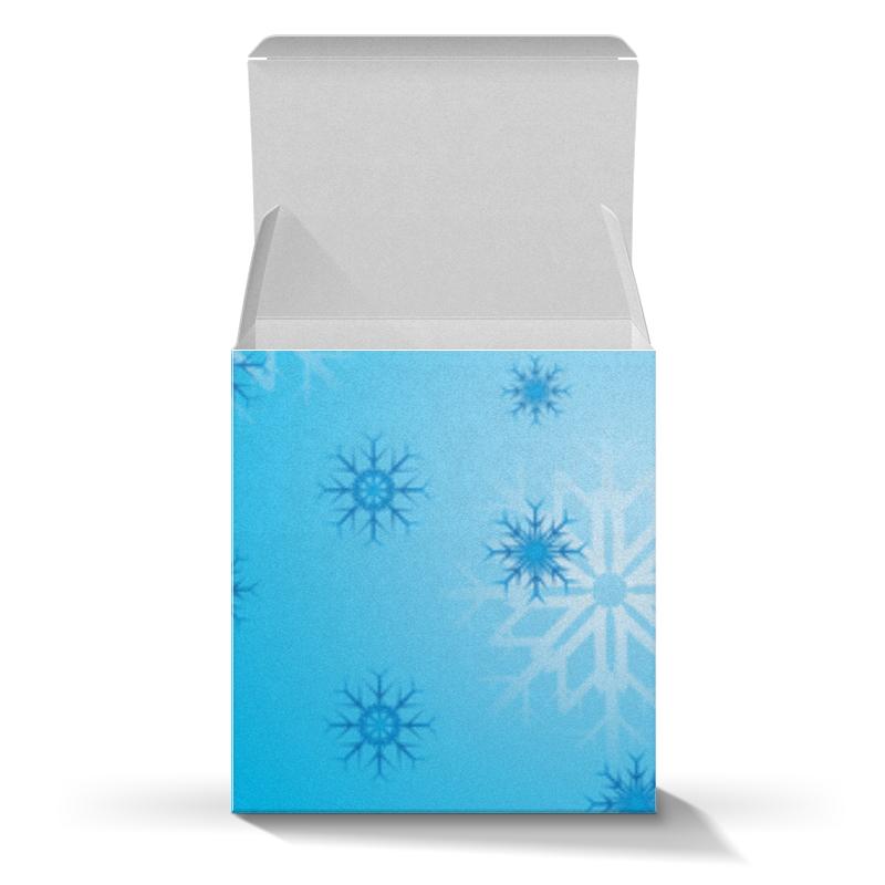 Коробка для кружек Printio Снежинка коробка для кружек printio снежинки