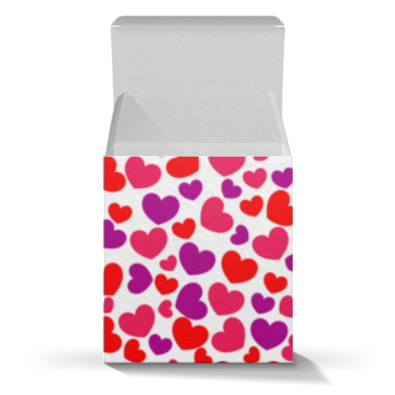 Коробка для кружек Printio Сердца каши агуша молочная каша рис 200 г