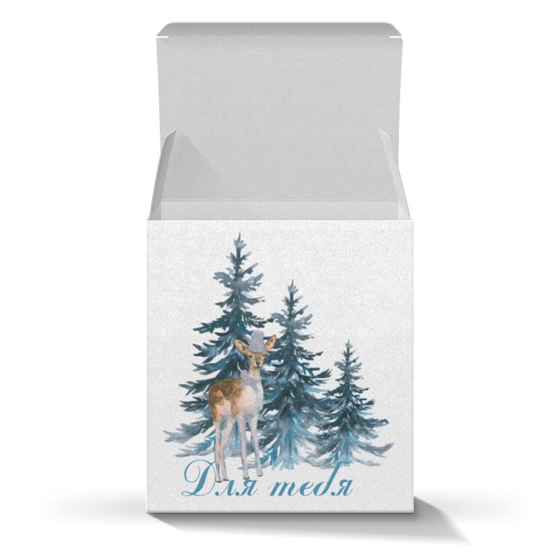 Подарочная коробка-куб Printio Лесной житель жк лесной городок одинцово купить квартиру