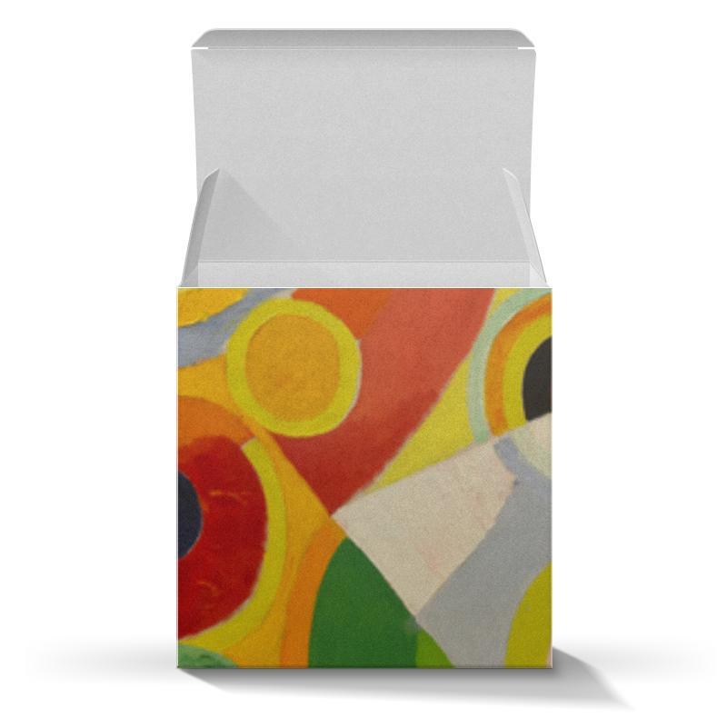 Подарочная коробка-куб Printio Ритм, радость жизни (картина делоне) николай делоне квантовая природа вещества
