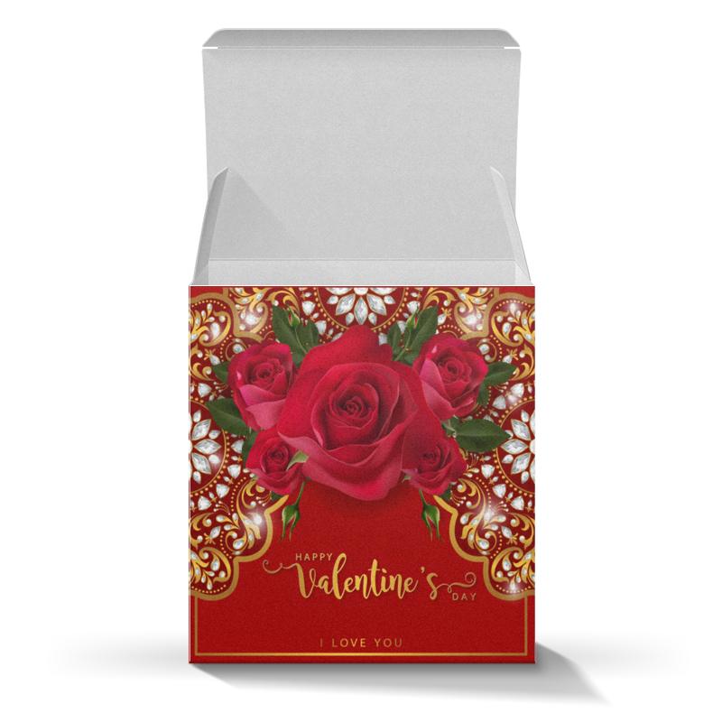Коробка для кружек Printio День св. валентина св желтый