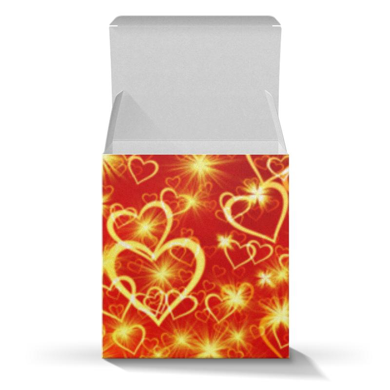 Коробка для кружек Printio Горячие сердца коробка для кружек printio сердца