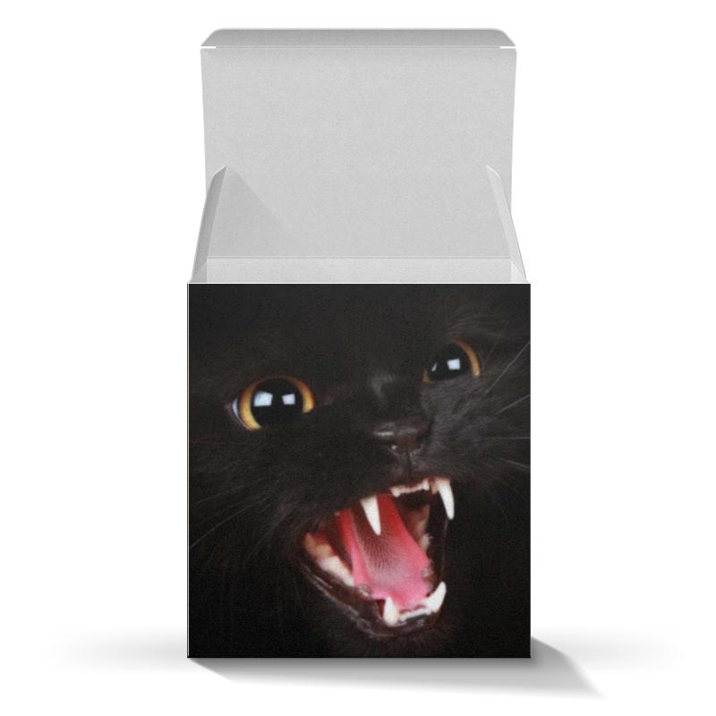 Подарочная коробка-куб Printio кошки детское молочко малютка 4 с 18 мес 600 г
