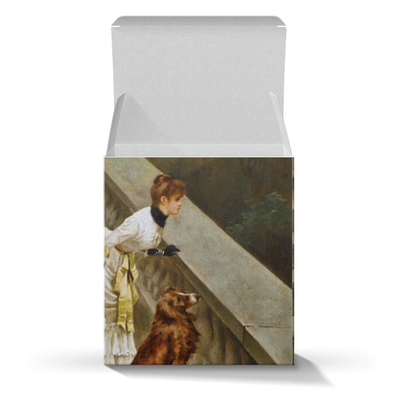 Подарочная коробка-куб Printio Картина артура вардля картины в квартиру картина etude 2 102х130 см