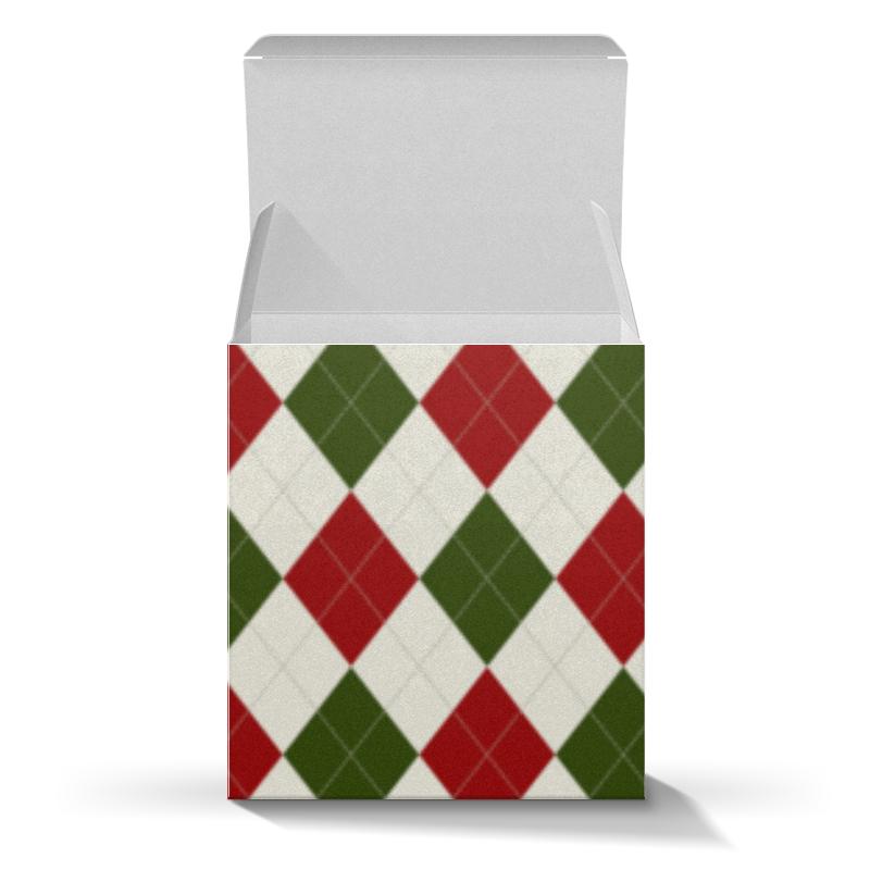 Коробка для кружек Printio Рождественский узор коробка для кружек printio рождественский узор