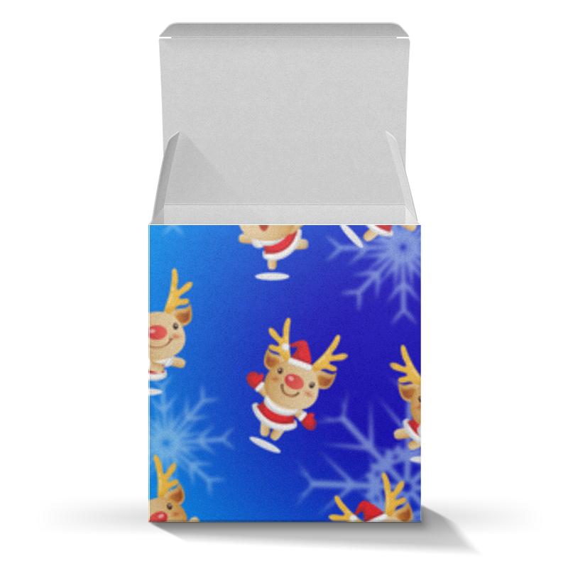 Коробка для кружек Printio Рождественские олени