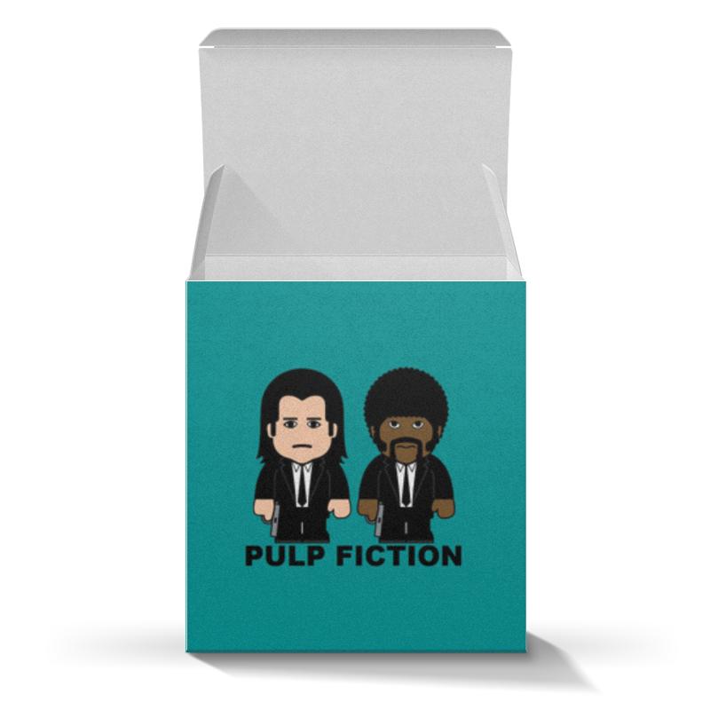 Коробка для кружек Printio Pulp fiction bravolli нут 350 г