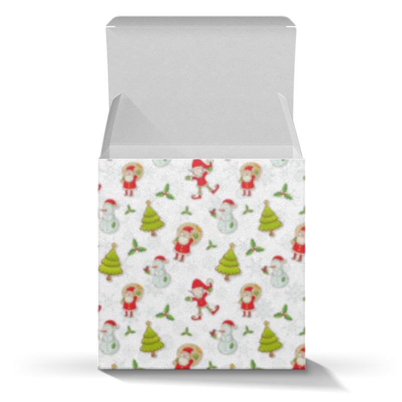 Коробка для кружек Printio Новый год коробка для кружек printio поцелуй