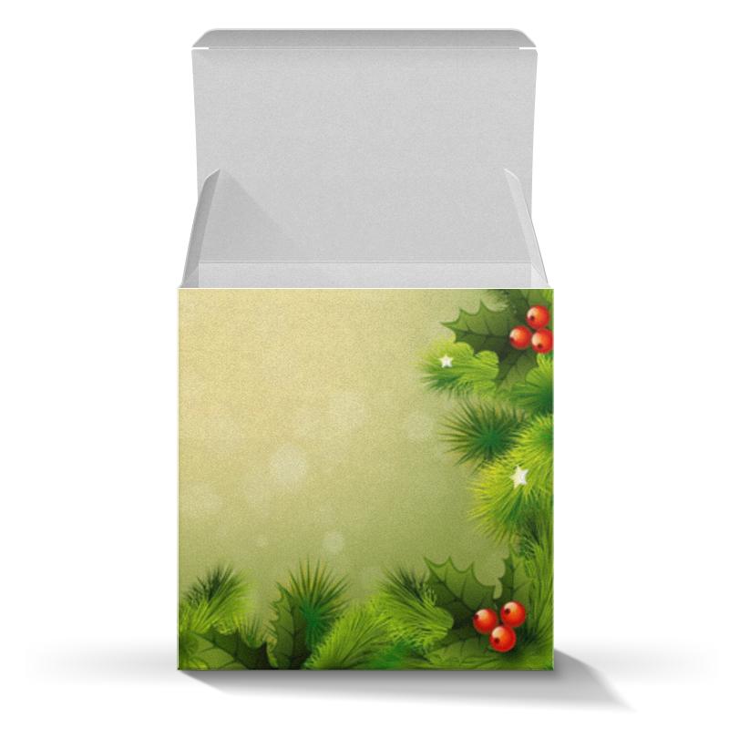 Коробка для кружек Printio С новым годом! коробка для кружек printio поцелуй