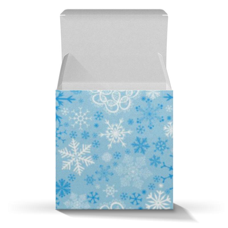 Коробка для кружек Printio Снежинки коробка для кружек printio собака