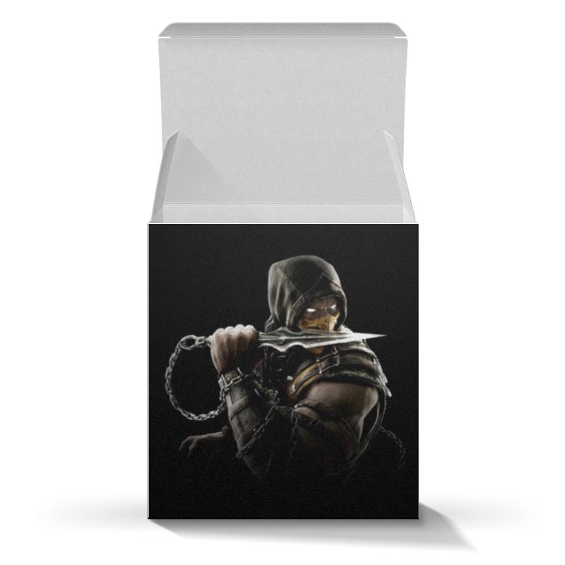 Коробка для кружек Printio Mortal kombat (scorpion) коробка для кружек printio винсент ван гог
