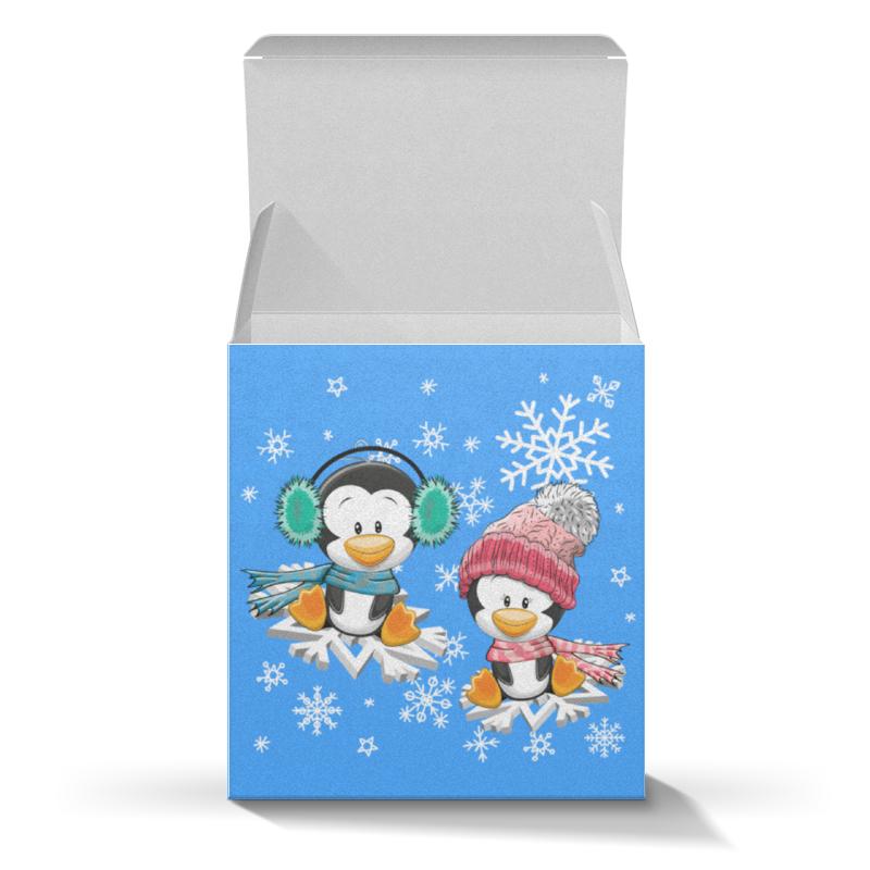 Коробка для кружек Printio Пингвин зимой подарочная коробка большая пенал printio пингвин зимой