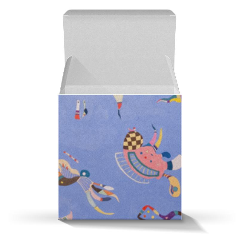 Подарочная коробка-куб Printio Синее небо (василий кандинский) кандинский блокнот