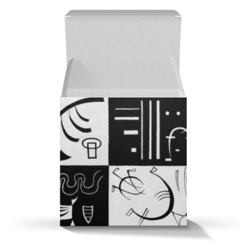 Подарочная коробка-куб Printio Тридцать (василий кандинский) кандинский блокнот