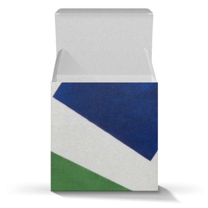 Подарочная коробка-куб Printio Супрематическая композиция (казимир малевич) свадебная композиция