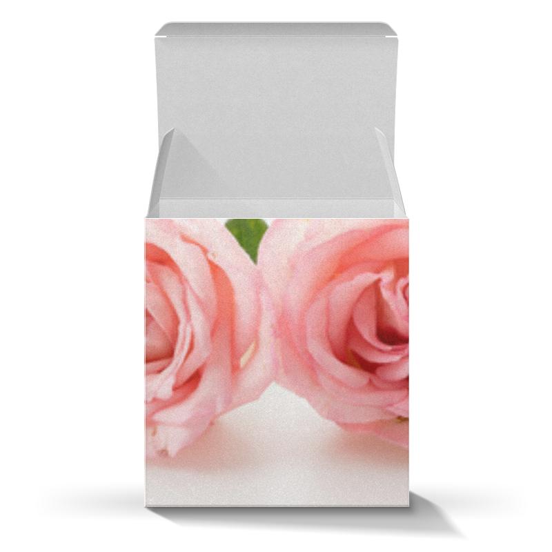 Коробка для кружек Printio Нежные розы шляпная коробка grand розы freedom blvck