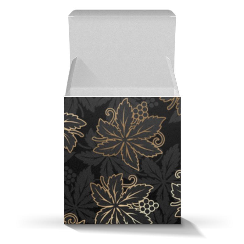 Коробка для кружек Printio Листья масло из виноградных косточек trasimeno рафинированное 1 л италия