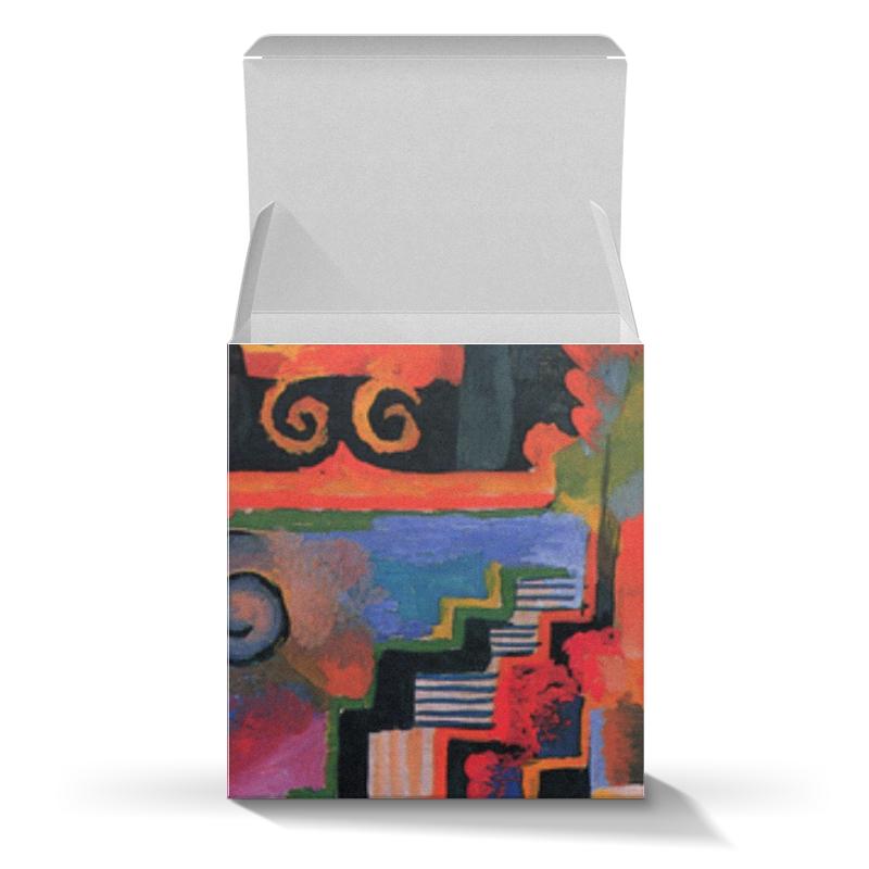 Коробка для кружек Printio Цветовая композиция (август маке)
