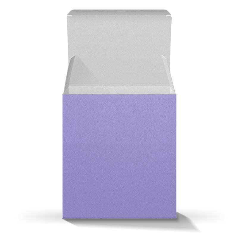 Подарочная коробка-куб Printio Сова в цветах 1050ml сова обед коробка бенто еда безопасный пластик еда пикник контейнер портативная коробка