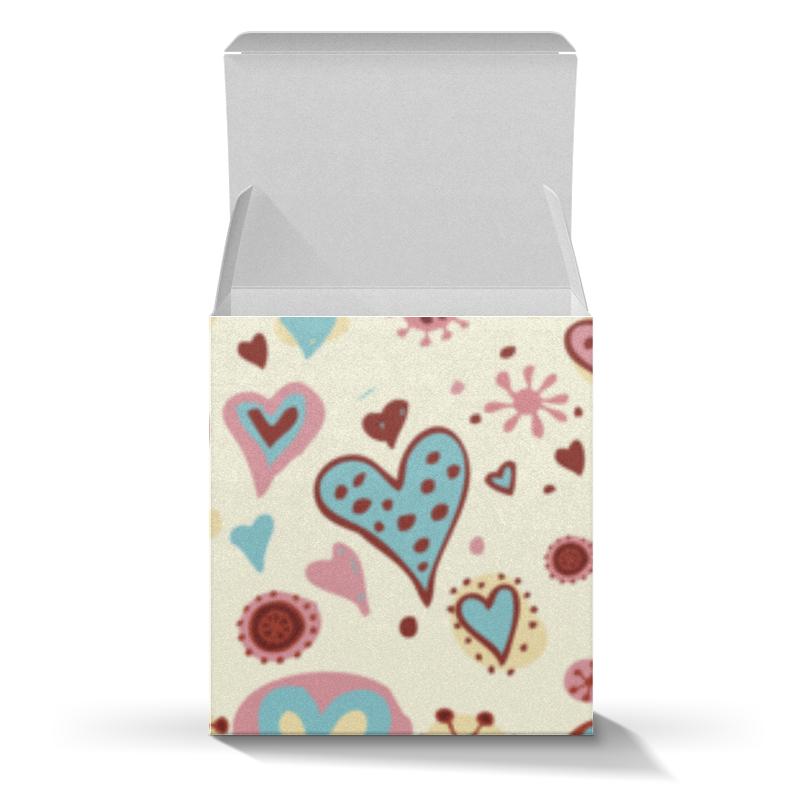 Коробка для кружек Printio Сердца коробка для кружек printio чудики