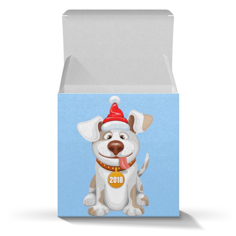 Коробка для кружек Printio Новогодняя хлопок возраст purcotton 2017 года выпуск hellokitty новые выдвижные ежедневно мягкие хлопковые полотенца 20x20cm 80 штук коробка