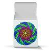 """Коробка для кружек """"Красочная мандала (подарочная упаковка)"""" - цветы, узор, подарок, мандала, индийский"""