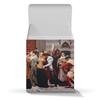 """Коробка для кружек """"Мадонна Чимабуэ (Барон Фредерик Лейтон)"""" - картина, живопись, лейтон"""