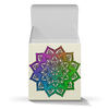 "Коробка для кружек ""Мандала на золотистом фоне"" - узор, подарок, мандала, индийский, мехенди"
