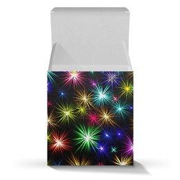 """Коробка для кружек """"НОВОГОДНИЕ ЗВЕЗДЫ"""" - стиль, звезды, красота, яркость"""