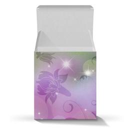 """Подарочная коробка-куб """"Лилия"""" - цветок, лилия"""