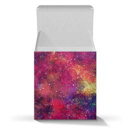 """Подарочная коробка-куб """"Ты просто космос!"""" - space, звезды, космос, cosmos, космический дизайн"""