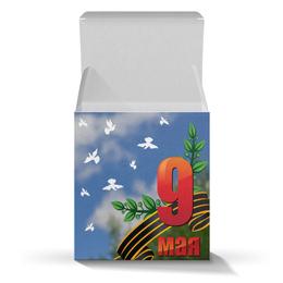 """Подарочная коробка-куб """"9 мая"""" - 9 мая, день победы"""