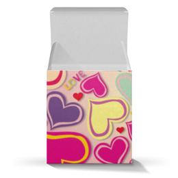 """Коробка для кружек """"Любовь"""" - любовь, сердца"""