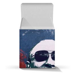 "Коробка для кружек ""Путин"" - очки, патриот, флаг, путин, putin"