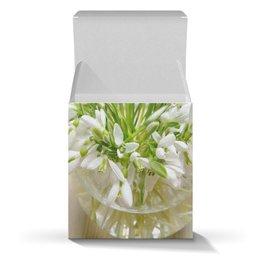 """Коробка для кружек """"Подснежники"""" - праздник, цветы, 8 марта, весна, подарок"""
