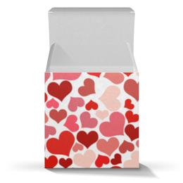 """Коробка для кружек """"Сердечки"""" - сердце, любовь"""