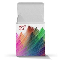 """Коробка для кружек """"Радуга"""" - праздник, настроение, подарок"""