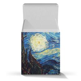 """Коробка для кружек """"Ван Гог. Звездная ночь"""" - праздник, арт, картина, ван гог, живопись"""