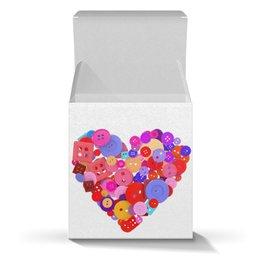 """Коробка для кружек """"День всех влюбленных"""" - любовь, день святого валентина, валентинка, i love you, день влюбленных"""