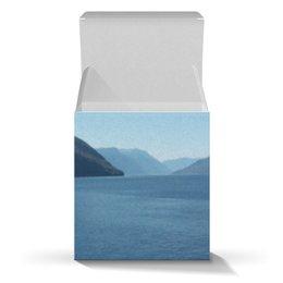 """Коробка для кружек """"Удивительный Алтай (вариант 1)"""" - лето, природа, алтай, горный алтай, телецкое озеро"""