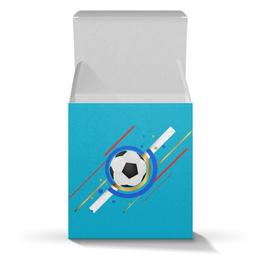 """Коробка для кружек """"Футбол"""" - футбол, мяч, спорт"""