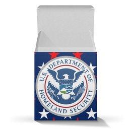 """Коробка для кружек """"Подарочная коробка для кружки"""" - америка, символика, соединённые штаты, американский президент"""