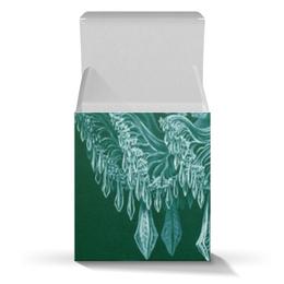 """Коробка для кружек """"Цвета морской волны"""" - новый год, картина, биология, красота форм в природе, эрнст геккель"""