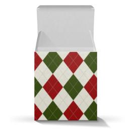 """Коробка для кружек """"Рождественский узор"""" - новый год, узор, рождество"""